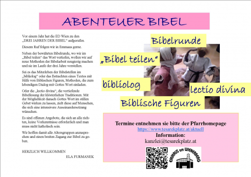 https://www.tesarekplatz.at/media/pictures-resized/article.000378.Bibelangebot Emmaus plakat breit.357d5c47ab8786591a0c3d2009c8344e.jpg