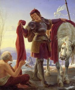 Alfred Rethel: Der heilige Martin